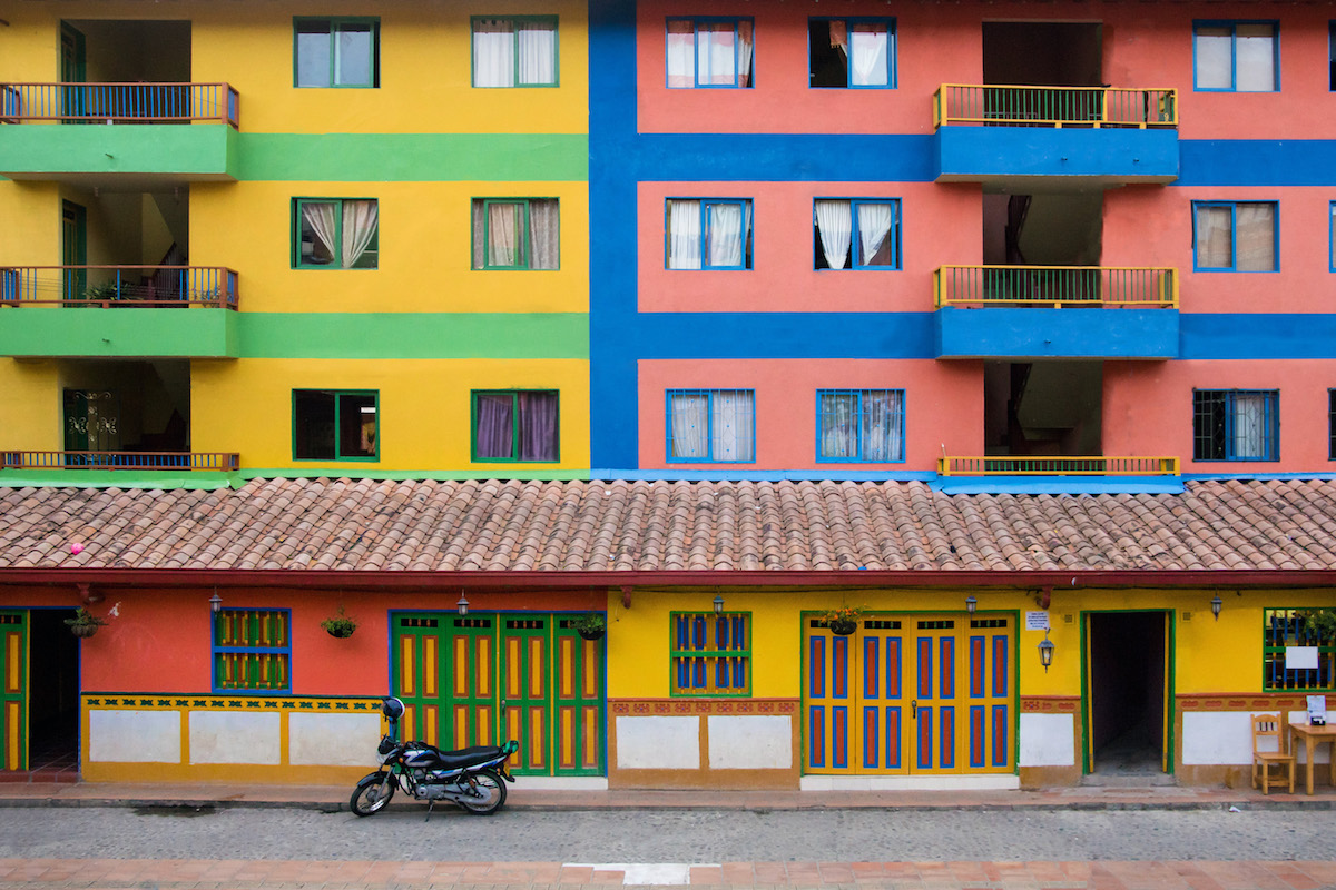 South America Green Architecture colors color landscapes nature Street city