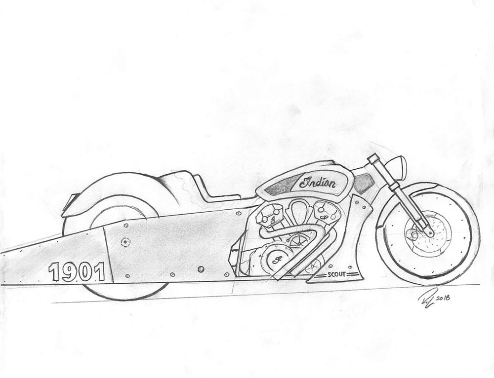 Полуфиналисты конкурса «The Wrench: Scout Bobber Build Off»