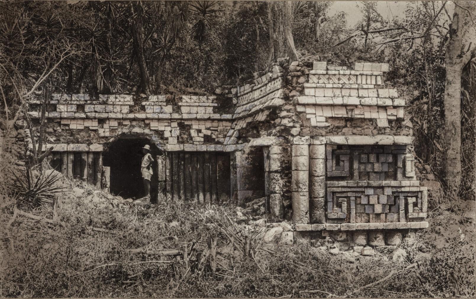 05. Главный дворец в руинах Дзибилтун