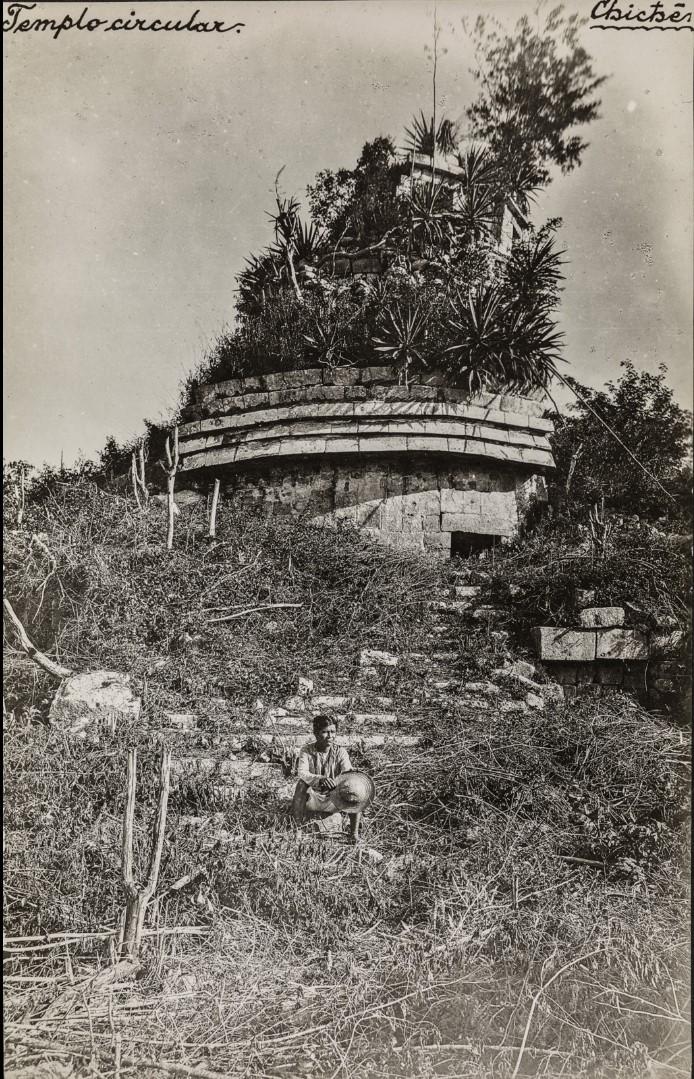 24. Башня Эль-Караколь в руинах Чичен-Ицы