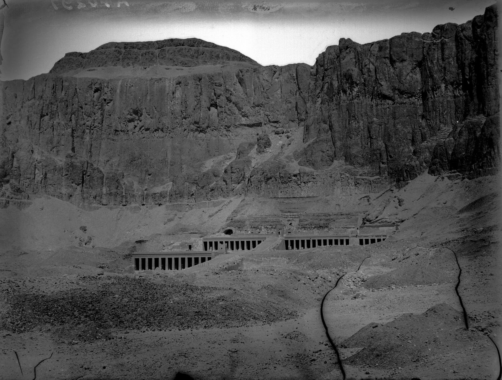 Дейр-эль-Бахри. Заупокойный храм Хатшепсут