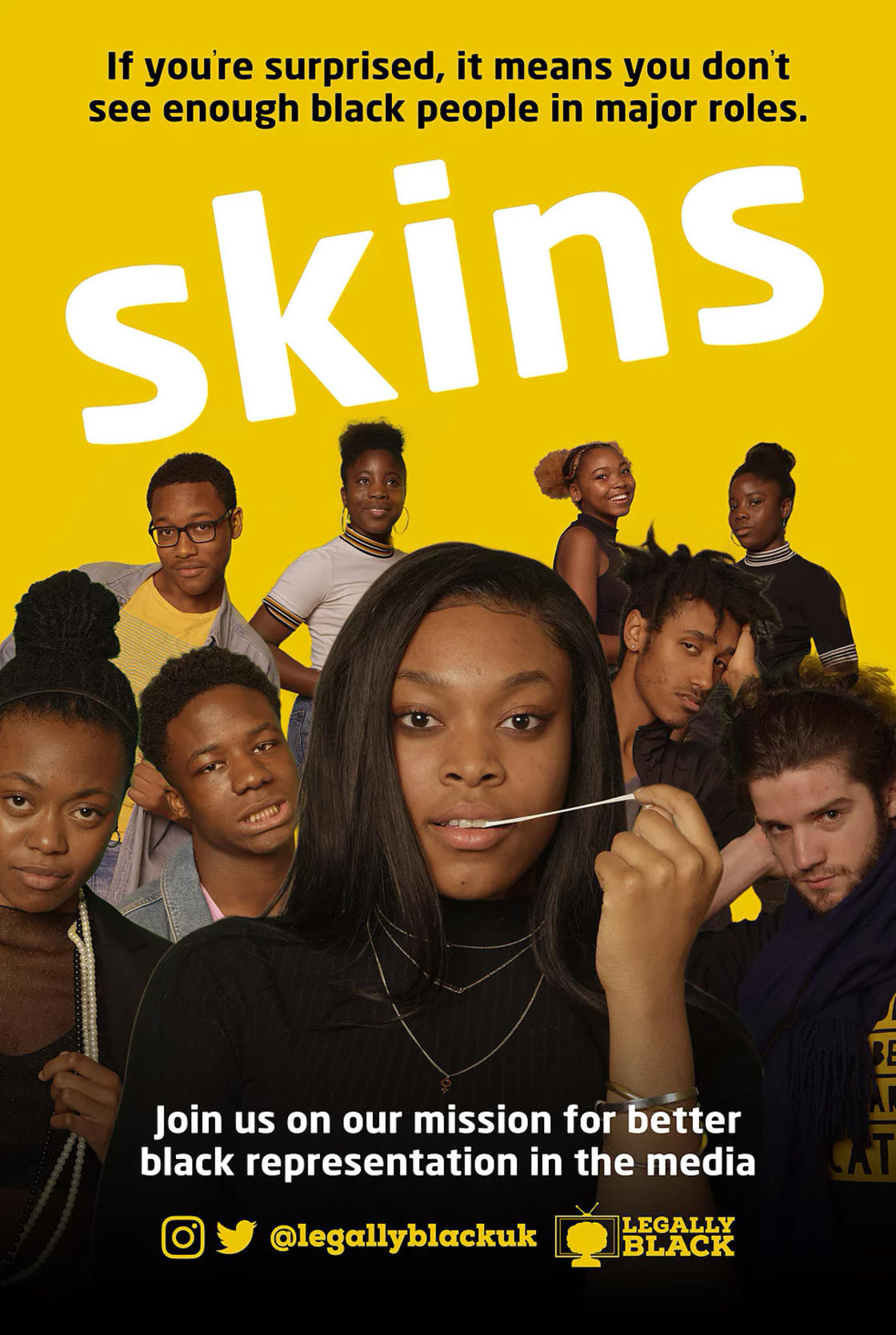 They remix cult movies to criticize the lack of black representation in the media