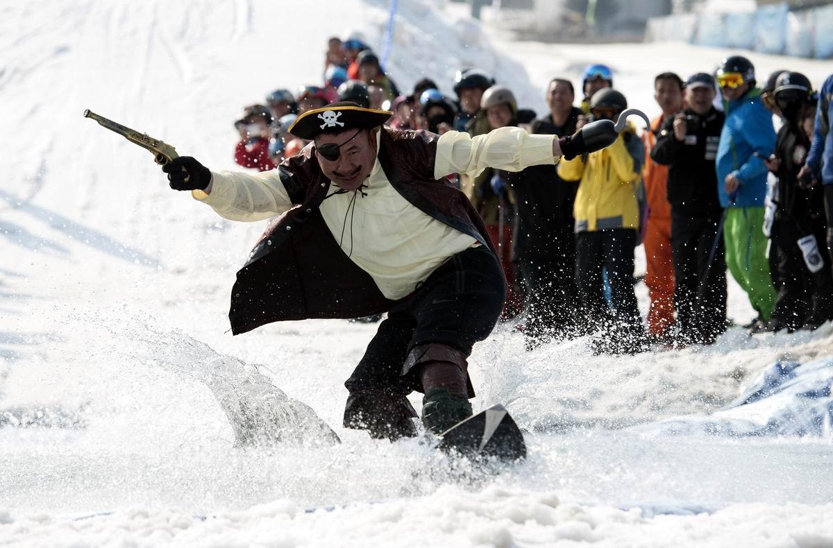 А я иду на абордаж: Китайский горнолыжный пират
