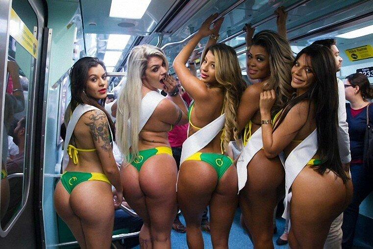 Большая попа! Это большая Бразильская проблема!