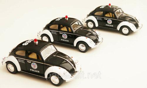 Kinsmart 1967 VW Beetle Classical Police