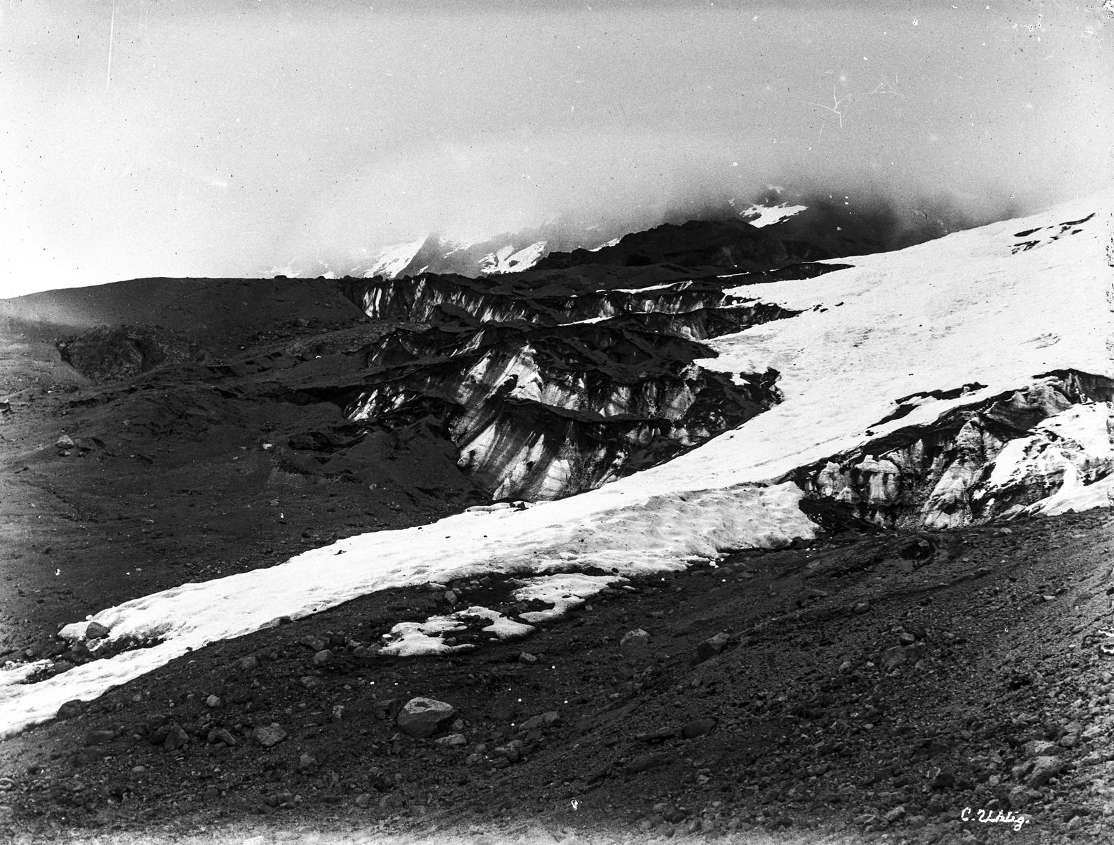 160. Снежный ледник на Кибо